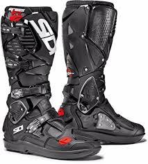ufo motocross boots sidi crossfire 3 srs black sidi crossfire 3 srs boot black