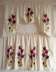 Crochet Kitchen Curtains by 141 Best Cortinas Crochet Cocinas Y Mas Images On Pinterest