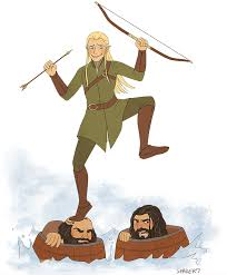 gif fanart the hobbit animation dwalin sketches legolas thorin the