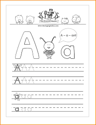 abc handwriting worksheets letter a practice sheet jpg