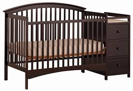 Storkcraft Convertible Crib Storkcraft Bradford 4 In 1 Convertible Crib Changer Espresso