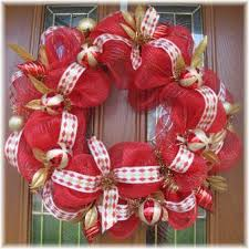 christmas mesh wreaths and gold deco mesh wreaths for christmas decoration
