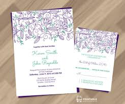 free printable wedding invitations 30 free wedding invitation templates