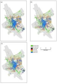 validating spatial patterns of urban growth from a cellular