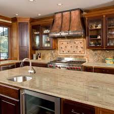 brown kitchen cabinets with backsplash 5 kitchen countertop and flooring matches for