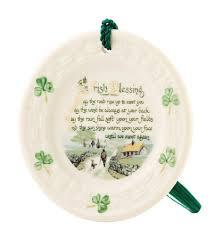 belleek blessing ornament celtic ceramics
