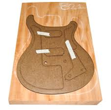 prs semi hollow body guitar building project routing the hollow