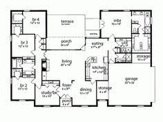 layouts of houses contemporary florida mediterranean house plan 63365 house plans