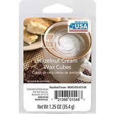mainstays wax melts hazelnut cream walmart com