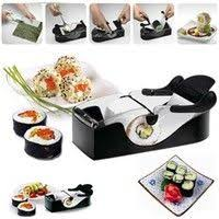 Urban Sushi Kitchen - 11pcs sushi maker kit rice roll mold easy chef set mould roller