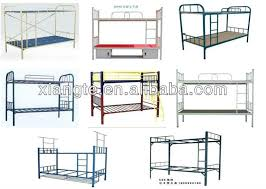 Customized High Quality Product Metal Full Size Bunk Bedsteel - Heavy duty metal bunk beds
