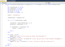 visual basic for loop as computing made easy vb lesson 7 extracting a specified