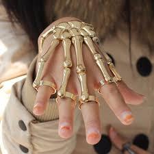 skull hand bracelet images Skeleton hand bracelet ancient explorers jpg