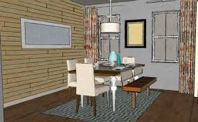 Modern Dining Rooms by Modern Dining Room With Wood Pallet Wall A Space To Call Home