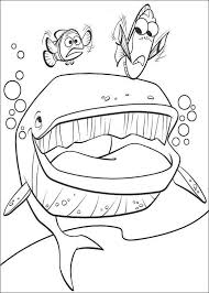 324 baby coloring pages images finding nemo