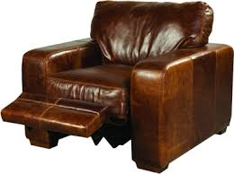 Reclining Arm Chairs Design Ideas Leather Reclining Armchair Plan Diy Home Decor Projects
