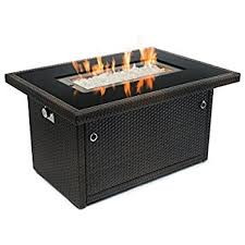 Propane Fireplace Heaters by Amazon Com Best Top Selling Propane Gas Fire Pit Table With Cover
