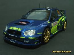 subaru wrc 2007 autoart cruiser my work on tamiya 1 24 scale subaru wrc rally car