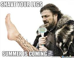 Summer Is Coming Meme - summer is coming by easyonme meme center