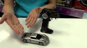 porsche 918 spyder 1 32 remote control car maplin a09tn youtube