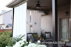 patio drapes outdoor decorate ideas unique in patio drapes outdoor