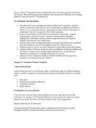 Consulting Resume Example 100 Consulting Resume Template Salesforce Consultant Resume