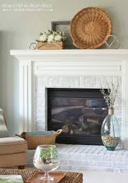 How To Update Brick Fireplace by Painting A Brick Fireplace Fireplaces By And Brick Fireplaces