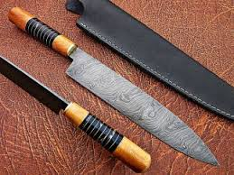 Japanese Folded Steel Kitchen Knives Damascus Steel Chef Knives Professional Japanese Best Kitchen Knives