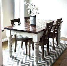 Farmhouse Dining Table With Leaf Distressed Kitchen Table And Chairs Dining Table And Chairs