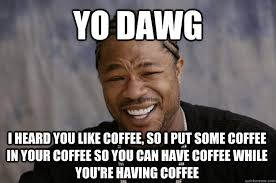 Let The Hate Flow Through You Meme - 25 funny coffee memes all caffeine addicts can relate to