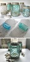 Ocean Bathroom Decor by Best 20 Beach Jar Ideas On Pinterest Beach Mason Jars Coastal