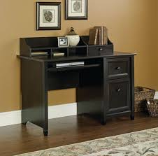 furniture black computer corner desk with white tabletop black