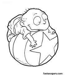 chucky coloring page chucky from rugrats from rugrats coloring page coloring