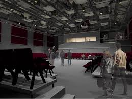 roble gym makeover includes new arts stanford theater setup loversiq