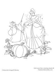 54 cinderella disney coloring pages images