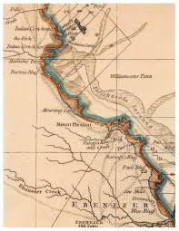 Georgia South Carolina Map The Mckay Family U0027s Personal War On The Savannah River Journal Of