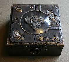 tutorial steampunk box diy packaging pinterest steampunk recycle reuse renew mother earth projects how to make a steampunk keepsake box