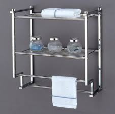Bathroom Storage Racks View In Gallery Wall Mounted Bathroom Storage Unit Marvelous