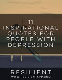 inspirational quotes for with depression