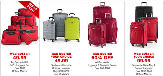 best samsonite deals black friday run macy u0027s black friday deals are live crazy prices on rachael