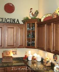 Ideas For Kitchen Decor Tuscan Kitchen Decor Ideas For Decorating A Mediterranean