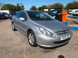 used peugeot 307 convertible for sale motors co uk