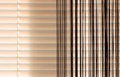 beige blinds and curtains stock photo image 68866920