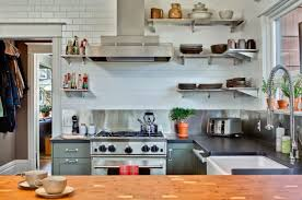 Where To Buy Stainless Steel Backsplash - add sleek shine to your kitchen with stainless steel shelves