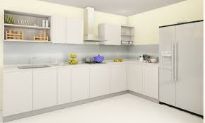 Kitchen Oven Cabinets by Kitchen Brilliant Kitchen Design With L Shape Cream Kitchen
