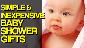 5 simple u0026 inexpensive baby shower gift ideas youtube