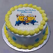 minions cake fresh minions cake d1 cake in gurgaon