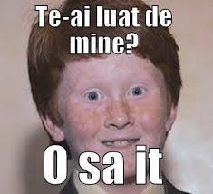 Ginger Memes - over confident ginger memes quickmeme