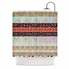 Leopard Print Shower Curtain by Curtains Ideas Tribal Print Curtains Inspiring Pictures Of