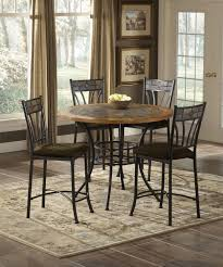 red rock wood stone pub table by bernards home gallery stores